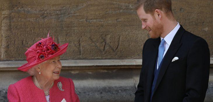 príncipe harry habría sido vetado por la reina Isabel II