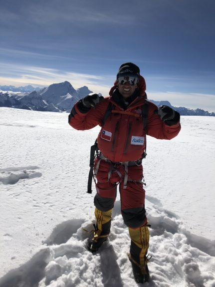 Montañista Hernán Leal