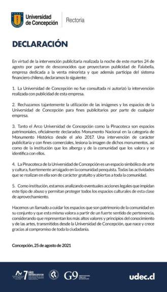 COMUNICADO | UDEC