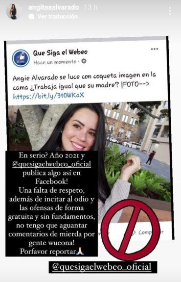 Angie Alvarado   Instagram