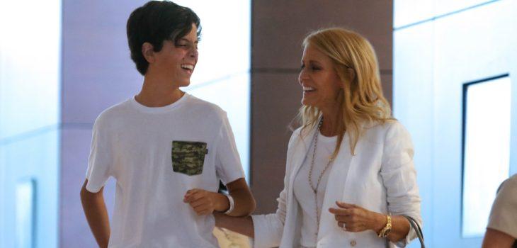 Cecilia Bolocco aclaró estado de salud de su hijo Máximo Menem