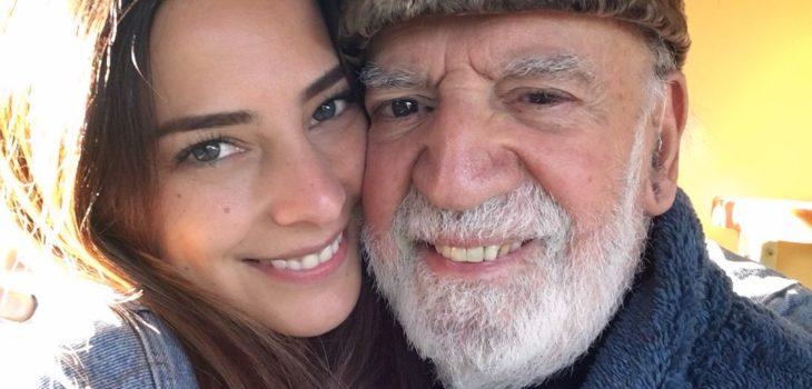 Daniela Castillo anunció el triste deceso de su padre a los 95 años: batallaba contra el COVID-19