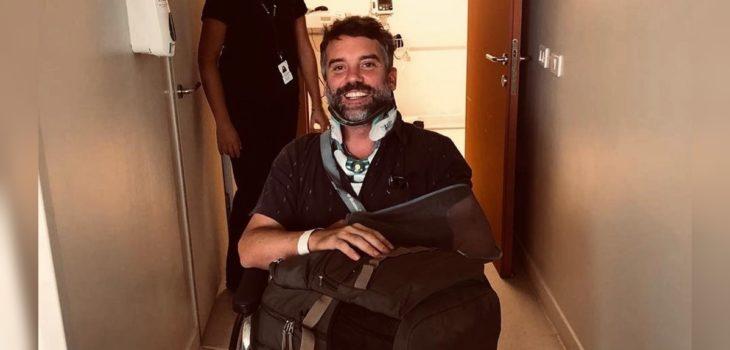 Diego Muñoz sobre accidente que lo dejó con graves lesiones en 2019