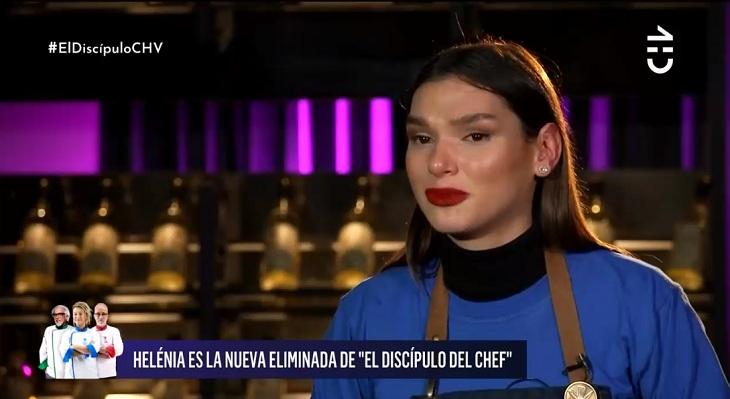 helenia melan eliminada discipulo del chef