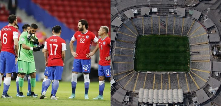 la roja estadio monumental clasificatorias