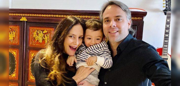 La elegante sesión de fotos de Fernando González y Luciana Aymar en la espera de su segundo bebé