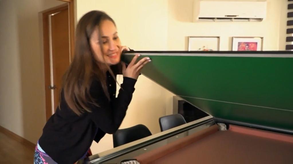 Francini Amaral impactó con su gran casa en La Divina Comida
