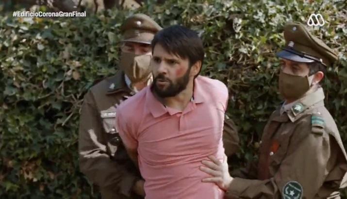 Germán detenido
