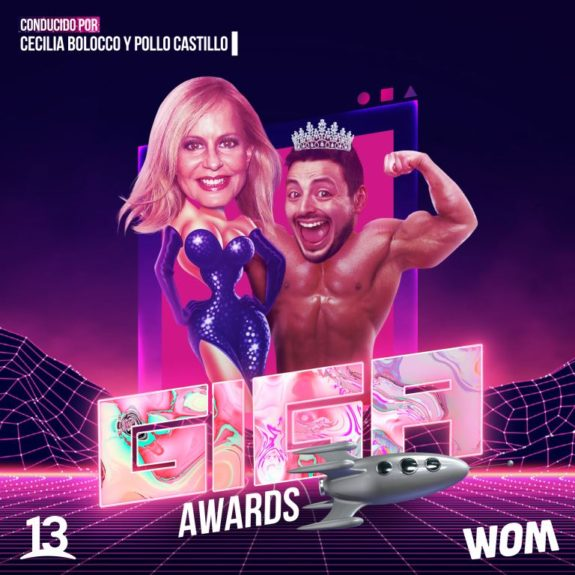 Giga Awards Cecilia Bolocco