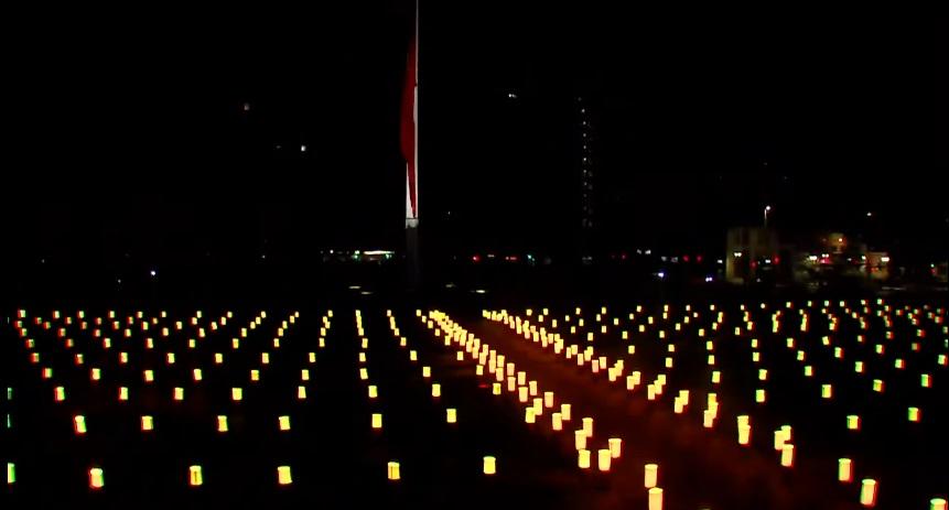 Homenaje víctimas de la pandemia