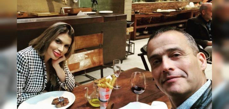 Thais Jordão e Iván Núñez disfrutan sus vacaciones en el sur de Chile