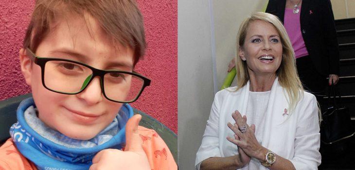 Pequeño Joaquín de Contra Viento y Marea comunicó que busca acceder a terapia en fundación de Cecilia Bolocco