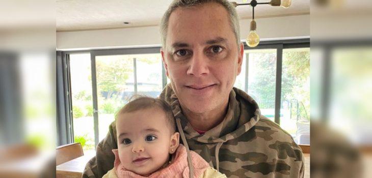 José Miguel Viñuela publicó fotos del bautizo de su hija Elisa