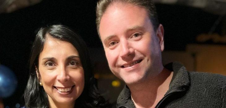 Christian Pino y Karla Rubilar