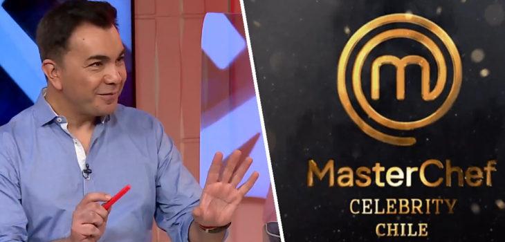 Luis Sandoval MasterChef Celebrity