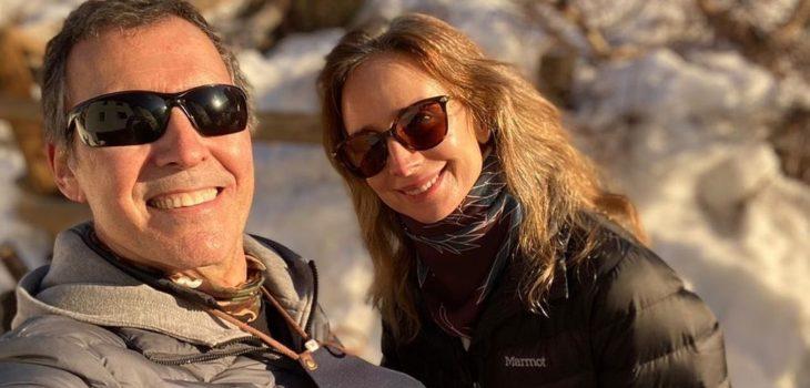 María José Prieto y Cristian Campos