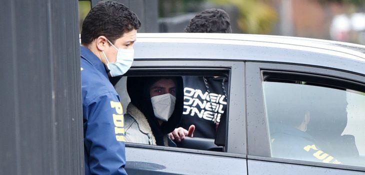 Martín Pradenas recibió sanción tras incautar dos pendrives y tarjeta de memoria en su celda