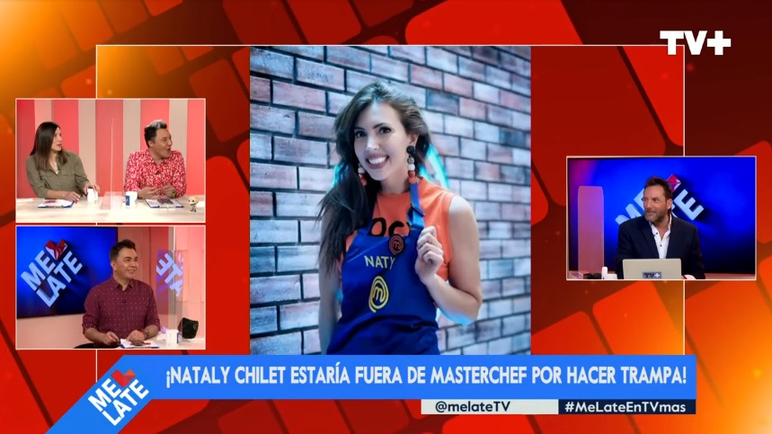 Nataly Chilet MasterChef Celebrity