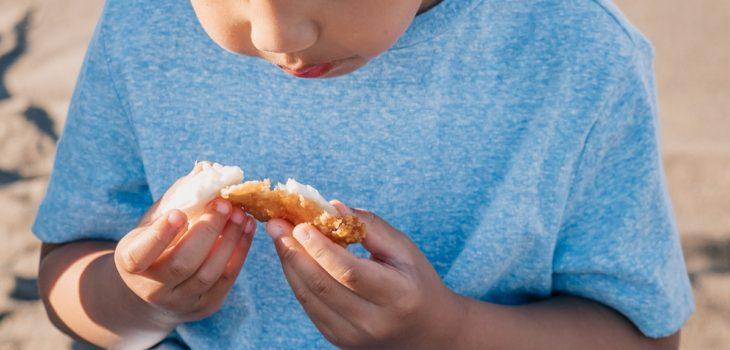 niño fobia comida inglaterra