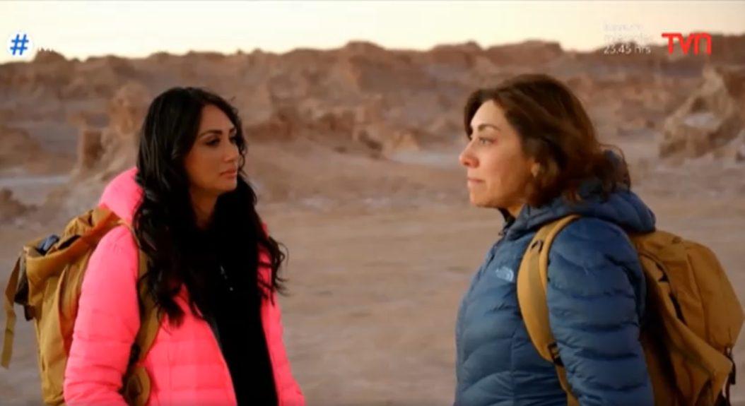 Pamela Díaz y Carmel Gloria Arroyo