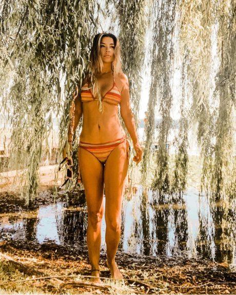 Francisca Merino bikini reflexión