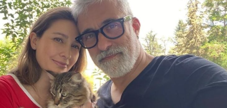 Sergi Arola y su mujer