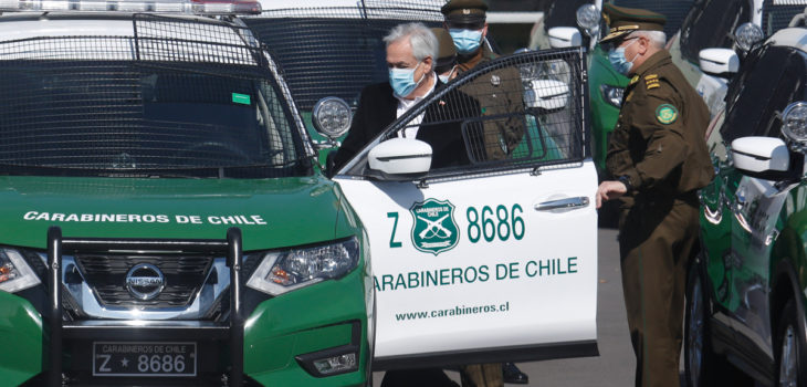 Piñera y compra de vehículos para Carabineros