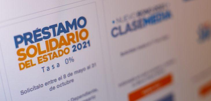 Préstamo solidario 2021 del Servicio de Impuestos Internos