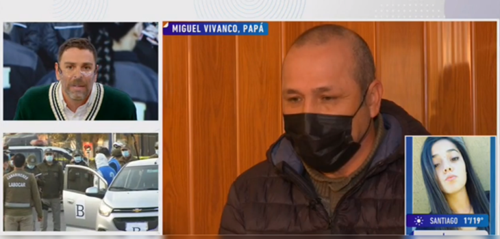 José Antonio Neme molesto por no pronunciación de PDI ante vuelco en caso de subinspectora Valeria Vivanco