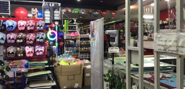 trabajador le cercenó la mano a cliente de mall chino en Recoleta