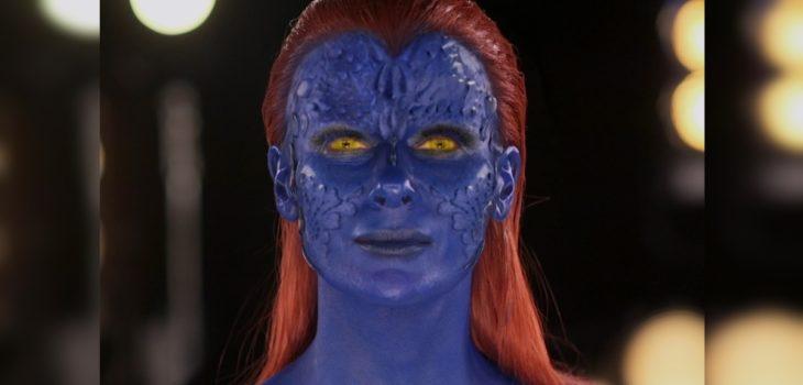 Tonka Tomicic sorprendió con cosplay de Mystique en los Giga Awards