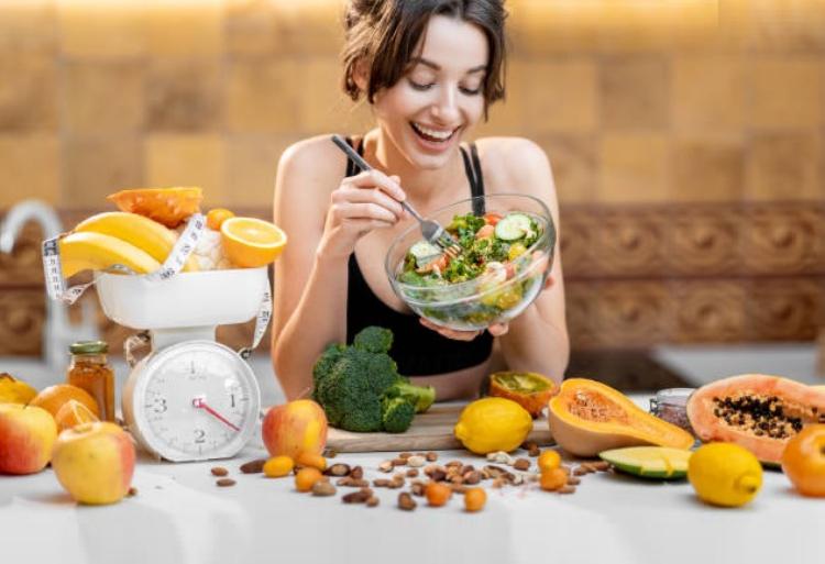 frutas y verduras estrés