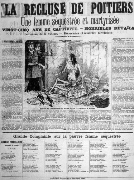 Captura   Prensa francesa de 1901 que cuenta la trágica historia de Blanche Monnier