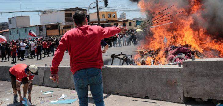 crisis migratoria en Iquique