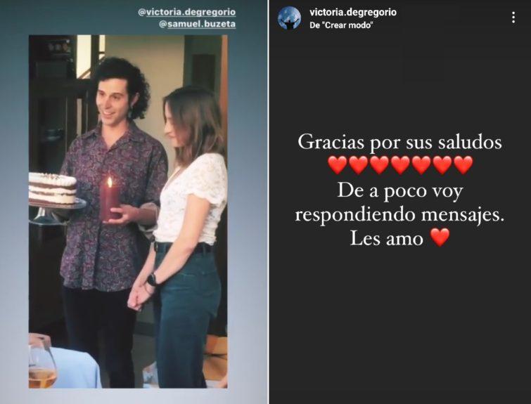 Victoria de Gregorio cumpleaños