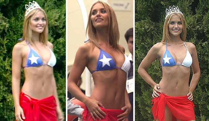 kenita Larraín bikini Viña