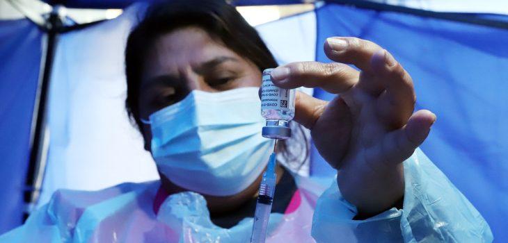 contagios coronavirus vacunación