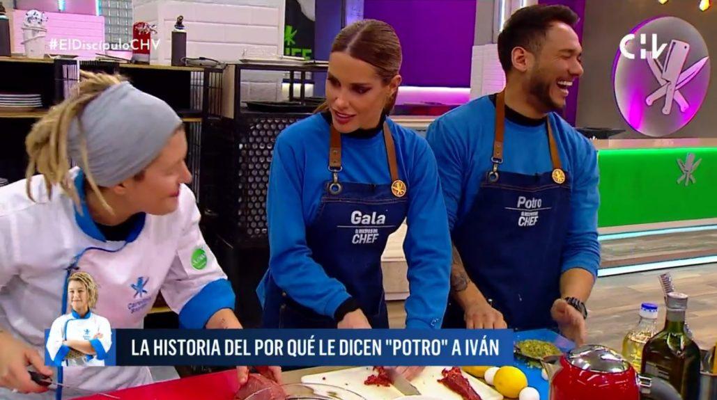 El discípulo del chef Potro Cabrera