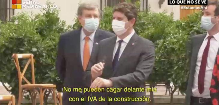 Rodrigo Galilea en micrófono abierto por excepciones tributarias