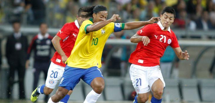 Ronaldinho partido estrellas partido por la paz