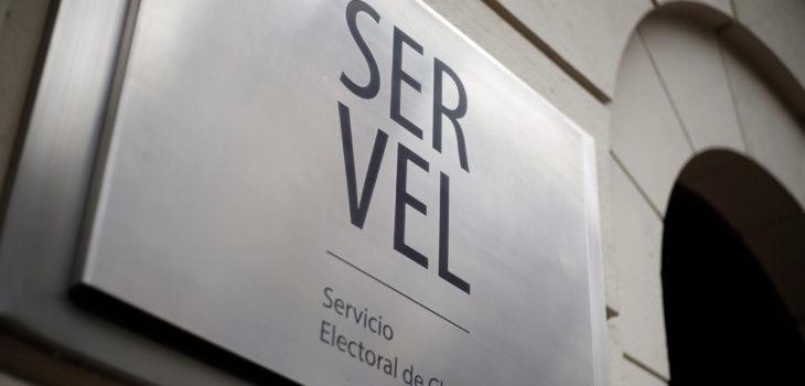 Servel por rechazo a candidaturas parlamentarias