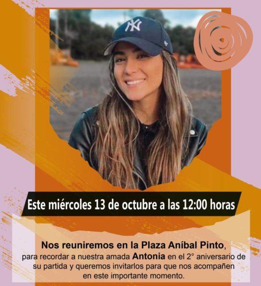 conmemoración Antonia Barra
