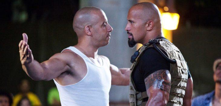 El actor Dwayne Johnson, más conocido como La Roca, volvió a revivir el conflicto que lo enfrentó con Vin Diesel y que finalmente provocó su salida de Rápido y Furioso.