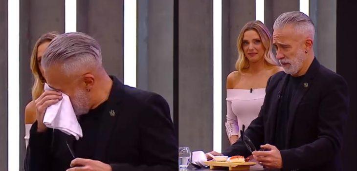 Sergi Arola terminó llorando por particular ingrediente en El Discípulo del Chef