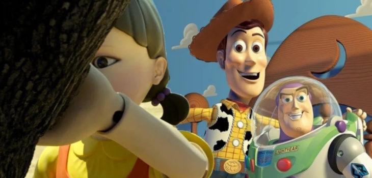 Juego del Calamar Toy Story
