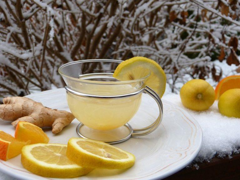 infusión limón